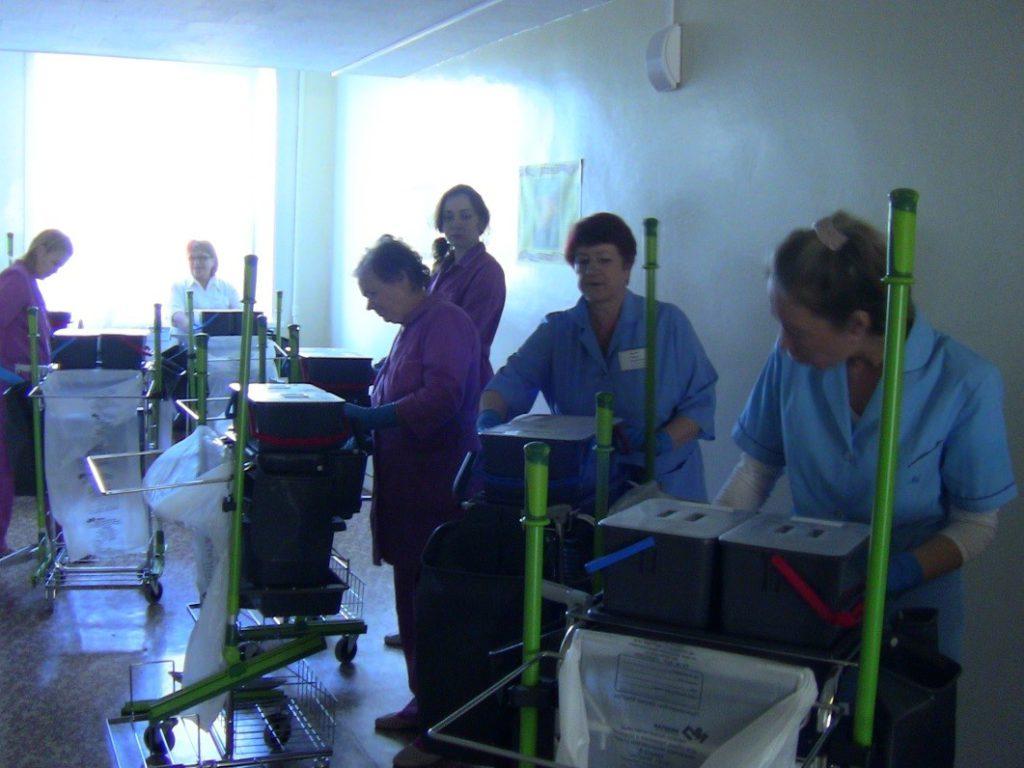 Отделение санитарного обеспечение ГБУЗ АО ГВВ