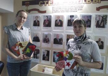 Праздничные открытки к Дню Победы от детского сада «Туесок»